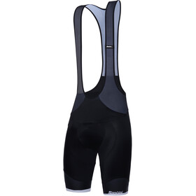 Santini Sleek 99 Short de cyclisme Homme, nero